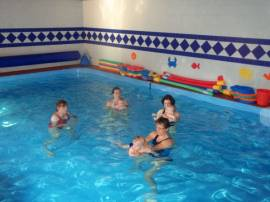 Bazén v rámci pobytu pro ubytované zdarma